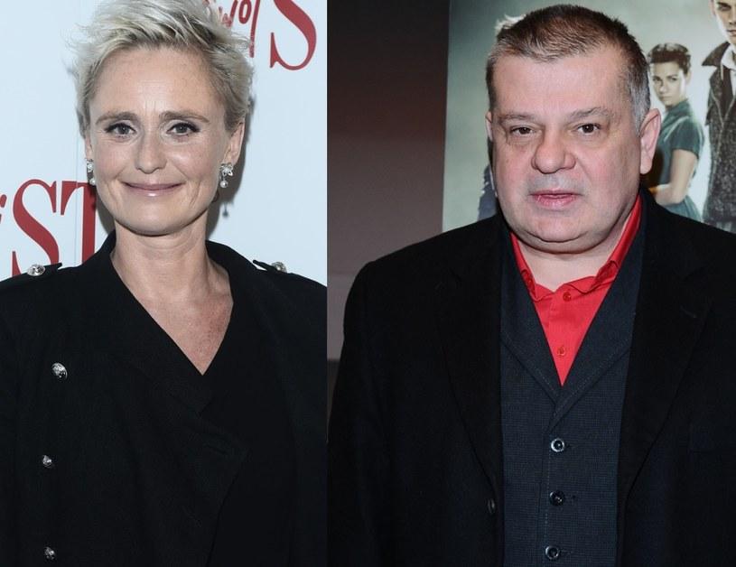Kinga Preis i Krzysztof Globisz /MWMedia