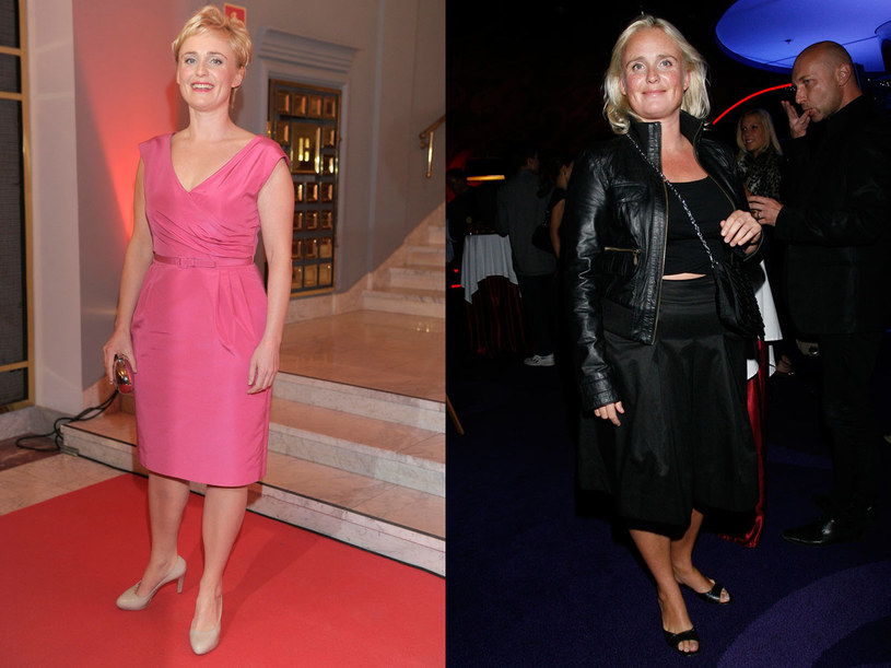 Kinga Preis schudła 15 kilogramów (po lewej - zdjęcie z 2012 roku, po prawej - z 2009 roku) /  - /AKPA