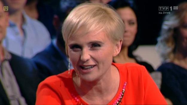 """Kinga Preis w programie """"Świat się kręci"""" zdradziła pikantne szczegóły kolejnego sezonu serialu. /TVP"""