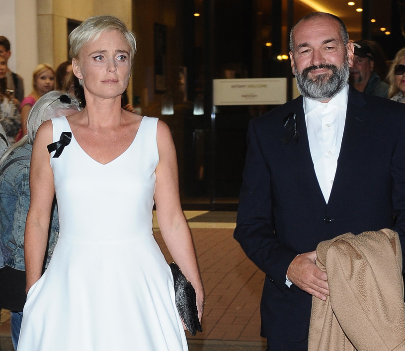 Kinga Preis z mężem /Pawel Wrzecion /MWMedia