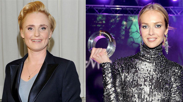 Kinga Preis zwyciężyła w kategorii Artystka Roku, natomiast Magdalena Mielcarz została okrzyknieta Kobietą Roku Glamour /- /Agencja W. Impact