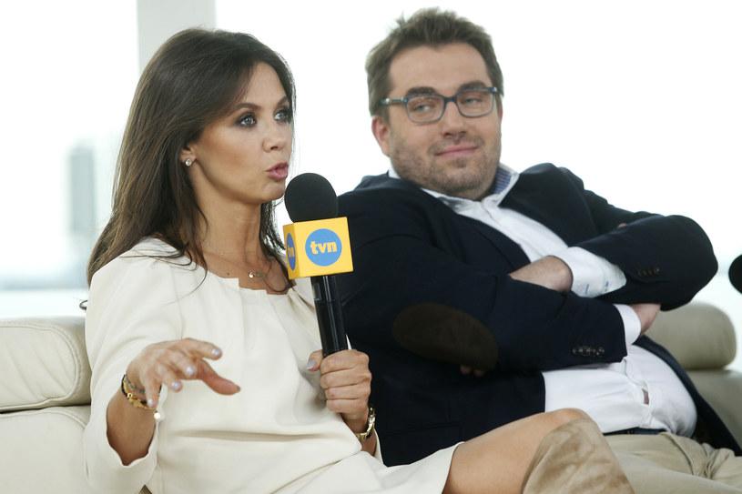 """Kinga Rusin i Bartosz Węglarczyk stanowili duet w programie """"Dzien Dobry TVN"""" od 2008 roku /AKPA"""