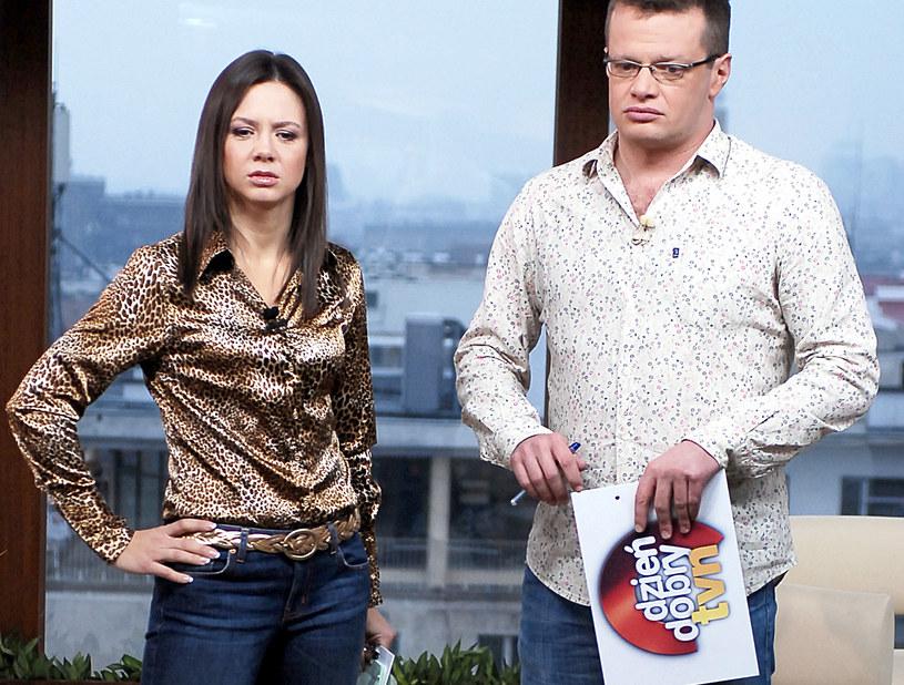 Kinga Rusin i Marcin Meller, 2007 rok /MWMedia