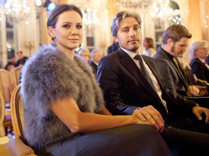 Kinga Rusin i Marek Kujawą są parą od 10 lat /Marcin Dlawichowski /Agencja FORUM