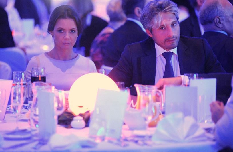 Kinga Rusin i Marek Kujawa /Wojciech Strozyk/REPORTER /East News