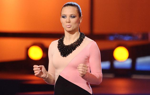 """Kinga Rusin w finałowym odcinku """"You can dance..."""", fot.Andras Szilagyi  /MWMedia"""
