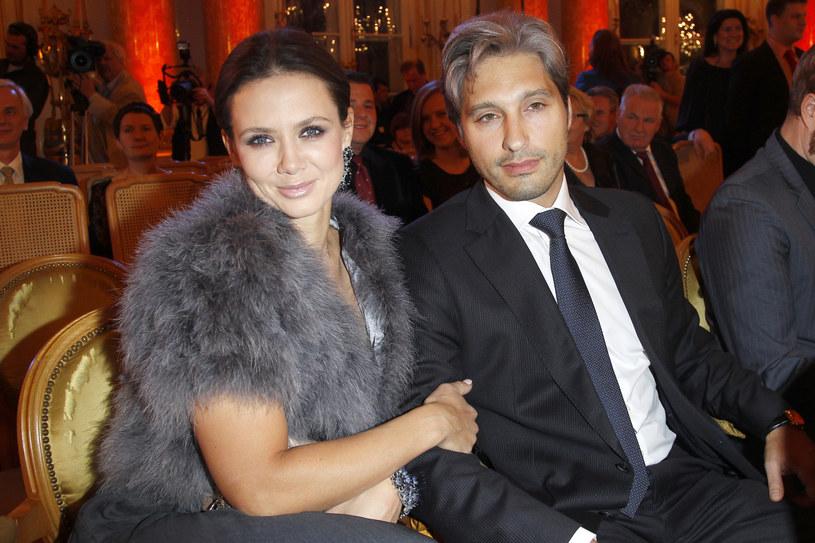 Kinga Rusin z partnerem Markiem / Engelbrecht /AKPA