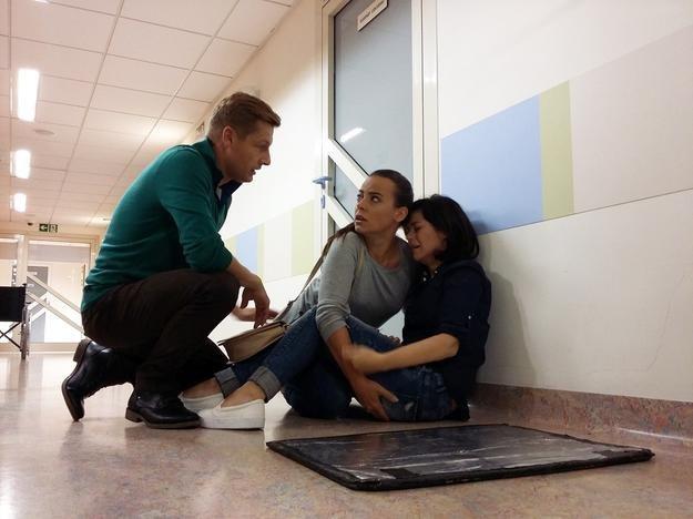 Kinga wpadnie w rozpacz na szpitalnym korytarzu /Facebook /materiały prasowe