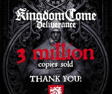 Kingdom Come: Deliverance sprzedał się w 3 milionach egzemplarzy