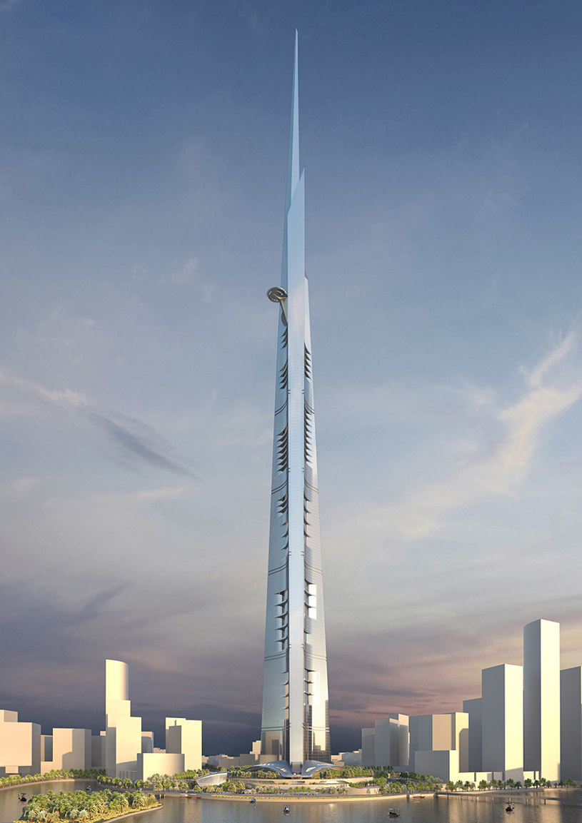 Kingdom Tower    Grafika: AS and GG Designs Kingdom Tower /materiały prasowe
