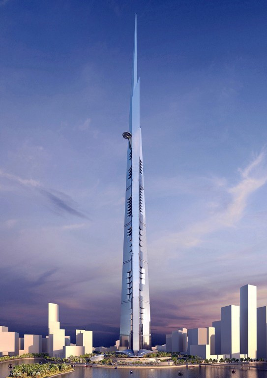 Kingdom Tower /AFP