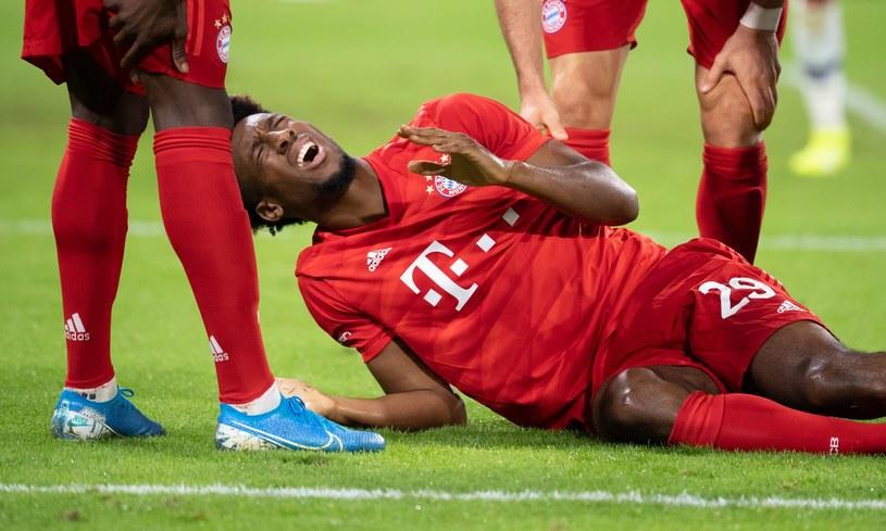 Kingsley Coman znowu jest kontuzjowany /AFP