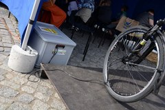 Kino o napędzie rowerowym
