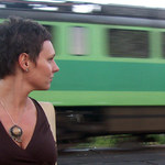 Kino plenerowe w... pociągu