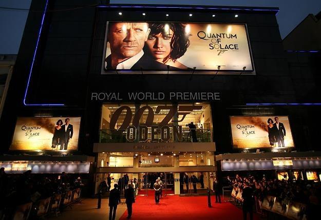 Kino sieci Odeon na Leicester Sqaure w Londynie /AFP