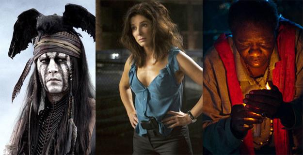 Kinowe gwiazdy tygodnia: Johnny Depp, Sandra Bullock i... tajemniczy kapłan wudu /materiały dystrybutora