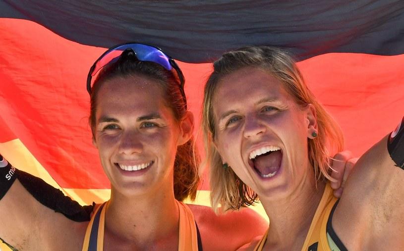 Kira Walkenhorst (z lewej) /AFP