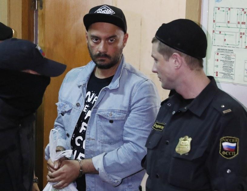 Kiriłł Sieriebriennikow w oczekiwaniu na wyrok sądu /Sergei Ilnitsky /PAP/EPA