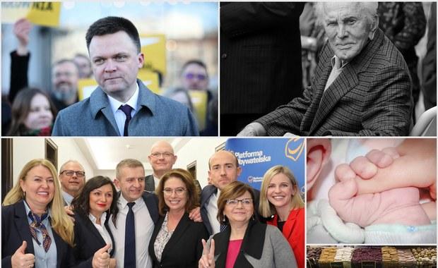 Kirk Douglas nie żyje. Kidawa-Błońska ogłosiła skład sztabu wyborczego [PODSUMOWANIE DNIA]