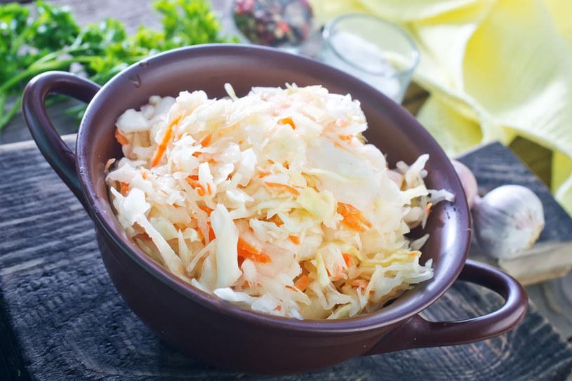 Kiszonki doskonale sprawdzają się jako składnik zimowej diety /123RF/PICSEL
