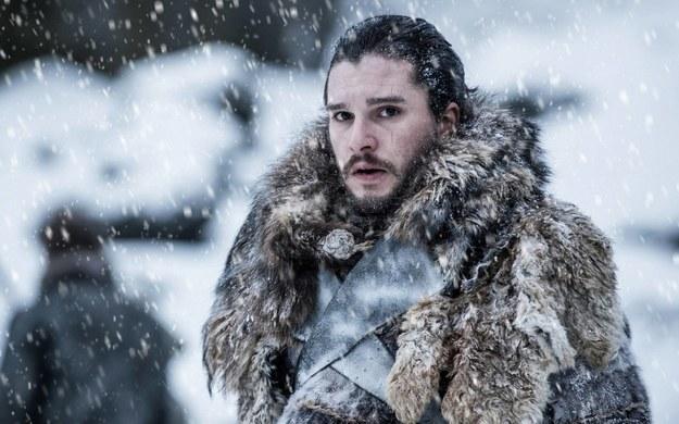 Kit Harington jako Jon Snow / Helen Sloan/HBO /PAP/EPA