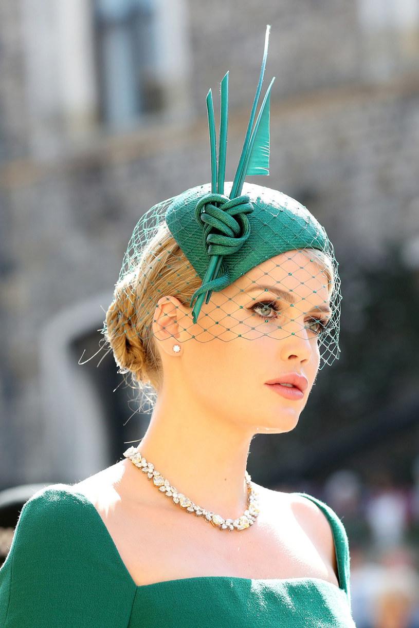 Kitty Spencer na ślubie Harry'ego i Meghan /Pool /Getty Images