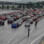 Klapa blokady autostrady
