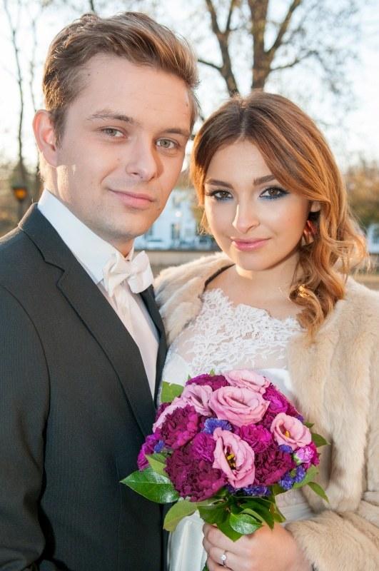 """Klara i Hubert wezmą ślub w 1284. odcinku """"Barw szczęścia"""" /Agencja W. Impact"""