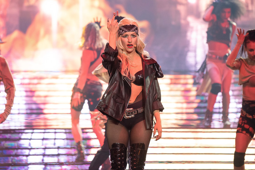 Klara Williams jako Lady Gaga /Polsat