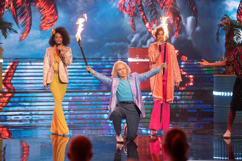 """Klara Williams zaśpiewała """"Sun of Jamaica"""" zespołu Goombay Dance Band /Polsat"""