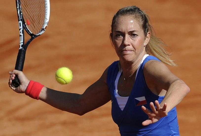 Klara Zakopalova (na zdjęciu) pokonała Katarzynę Piter /AFP