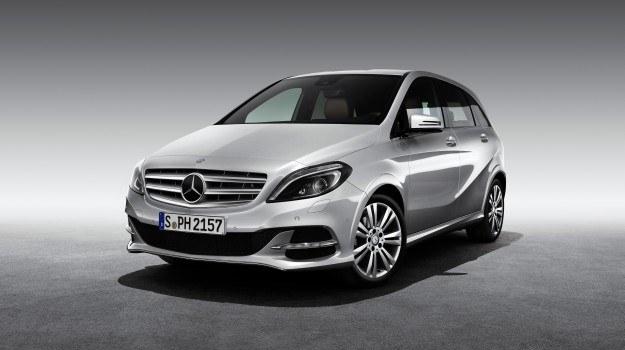 Klasa B 200 Natural Gas Drive spełnia już normę emisji spalin Euro 6. /Mercedes