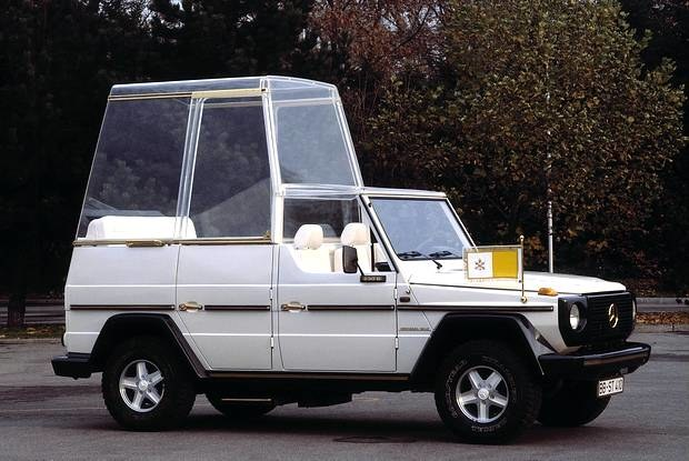 Klasa G z 1981 roku - pierwsze auto po zamachu na papieża / Kliknij /INTERIA.PL