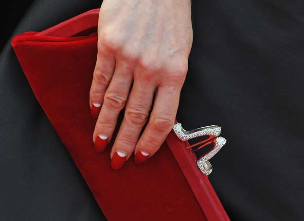 Klasyczny manicure Dity Von Teese /Getty Images/Flash Press Media