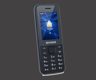 Klasyczny telefon Hykker Elegant w Biedronce