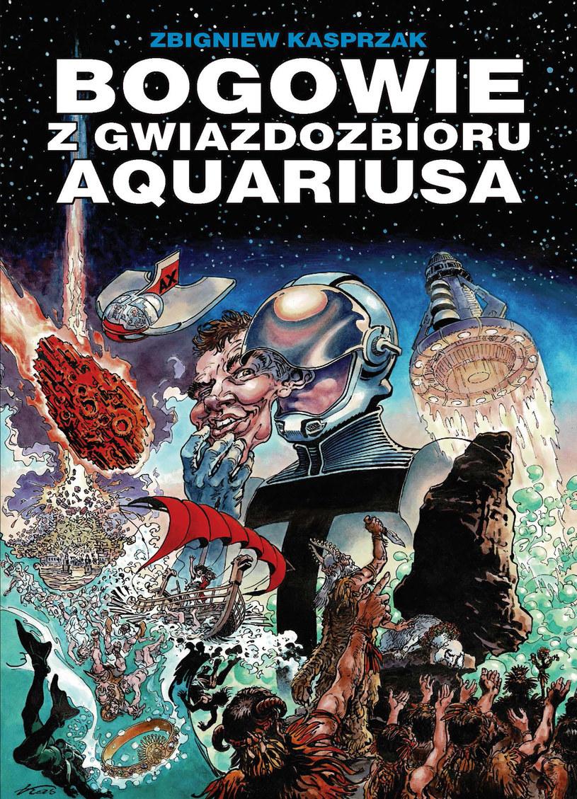 Klasyka Polskiego Komiksu. Bogowie z gwiazdozbioru Aquariusa /INTERIA.PL/materiały prasowe