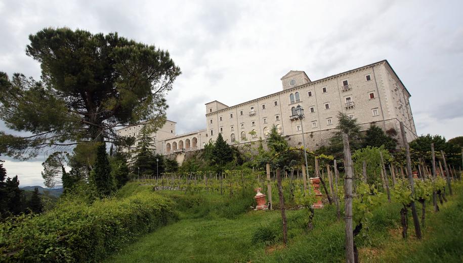 Klasztor na Monte Cassino /Leszek Szymański /PAP