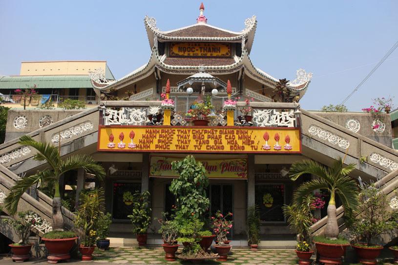 Klasztor, w którym odbywają się zajęcia z vipassany /dzięki uprzejmości autora  /materiał zewnętrzny