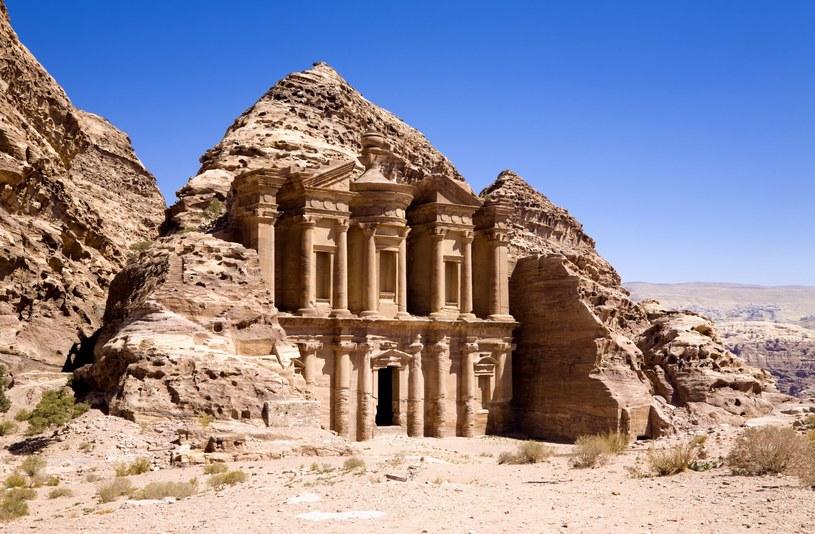 Klasztor w starożytnym mieście Petra /123RF/PICSEL