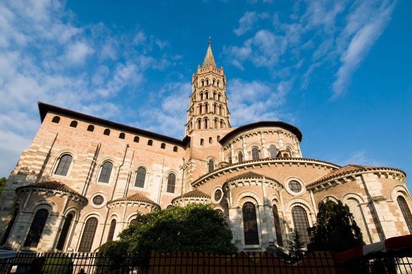 Klasztor wokół St. Sernin w Tuluzie, największego zachowanego kościoła romańskiego świata /123RF/PICSEL