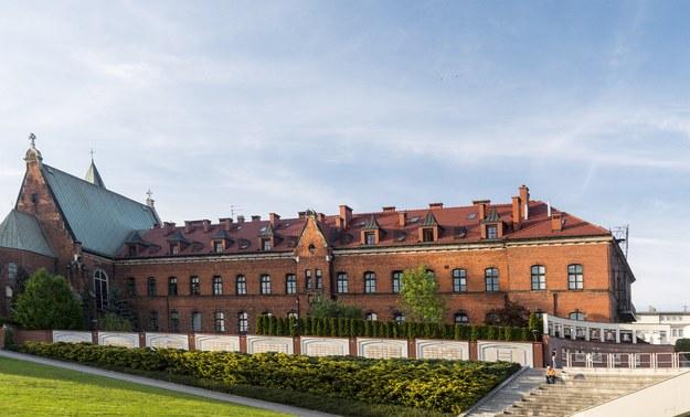 Klasztor Zgromadzenia Sióstr Matki Bożej Miłosierdzia w Krakowie-Łagiewnikach. /Jerzy Ochoński   /PAP
