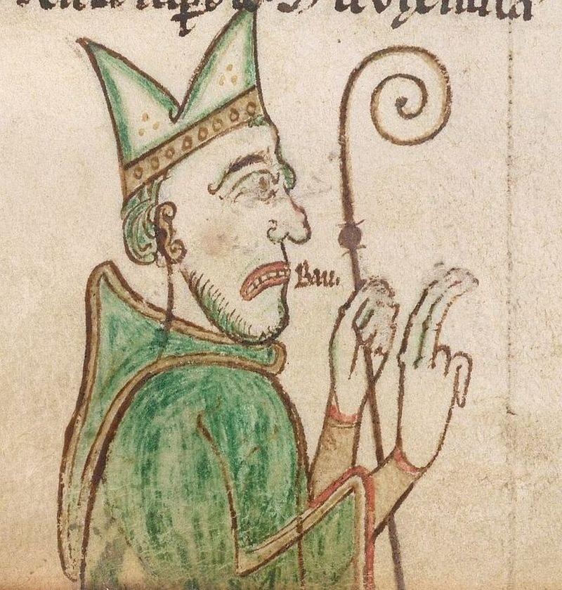 Klątwa Gaudentego była początkiem końca imperium Chrobrego (źródło: domena publiczna). /Ciekawostki Historyczne