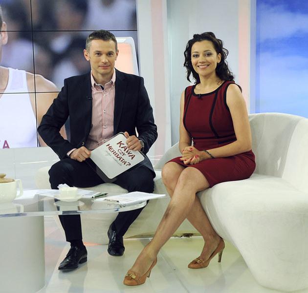 Klaudia Carlos i Łukasz Grass /Gałązka /AKPA