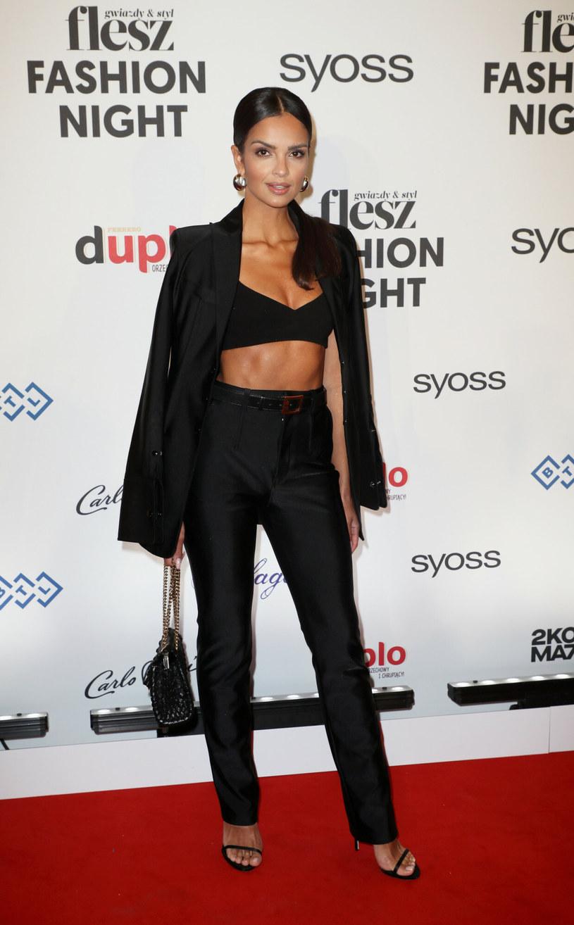 Klaudia El Dursi podczas Flesz Fashion Night 2021 /East News