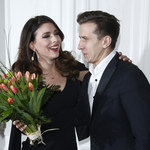 Klaudia Halejcio i Tomasz Barański nie szczędzą sobie czułości na ściance!
