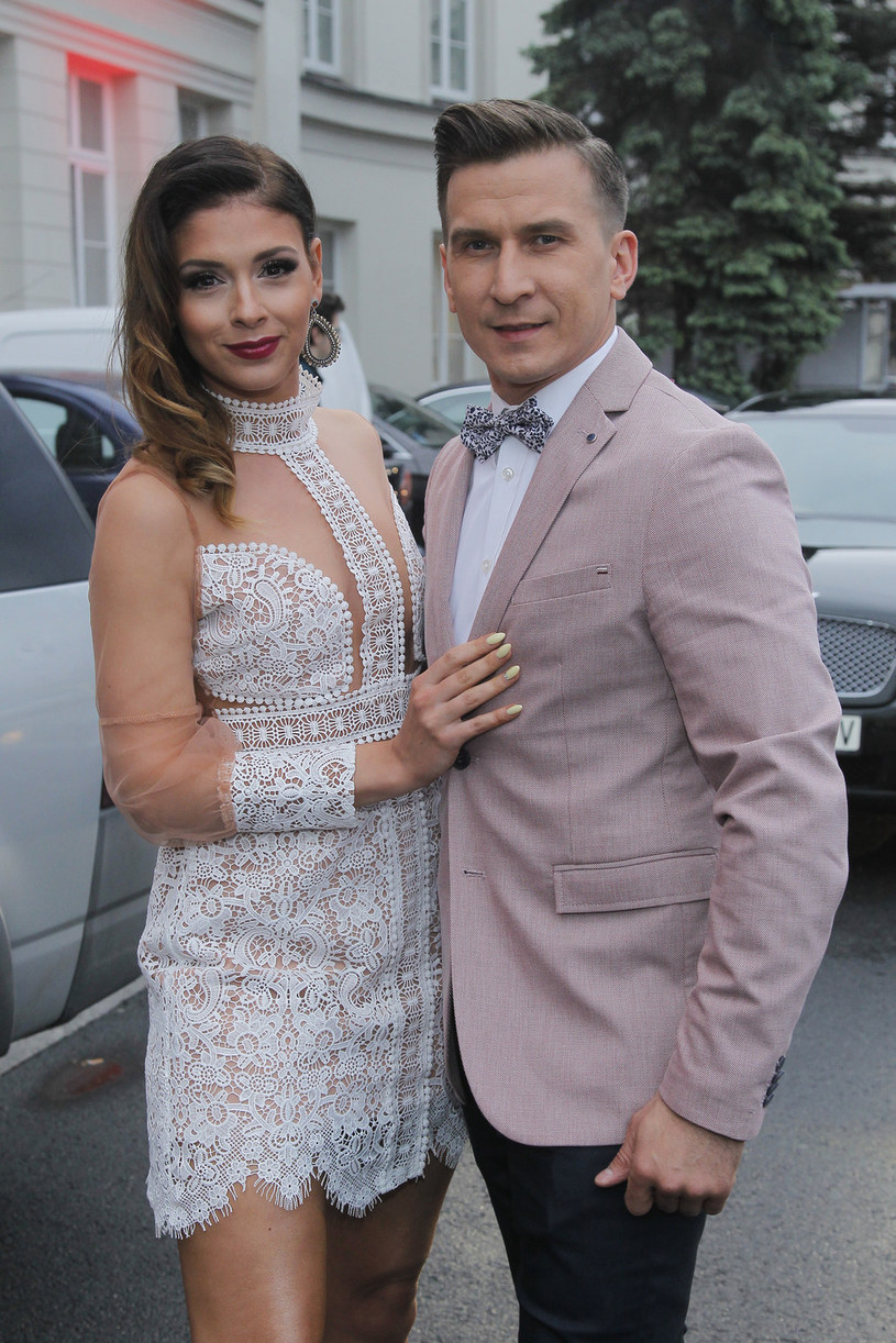 Klaudia Halejcio i Tomasz Barański /AKPA