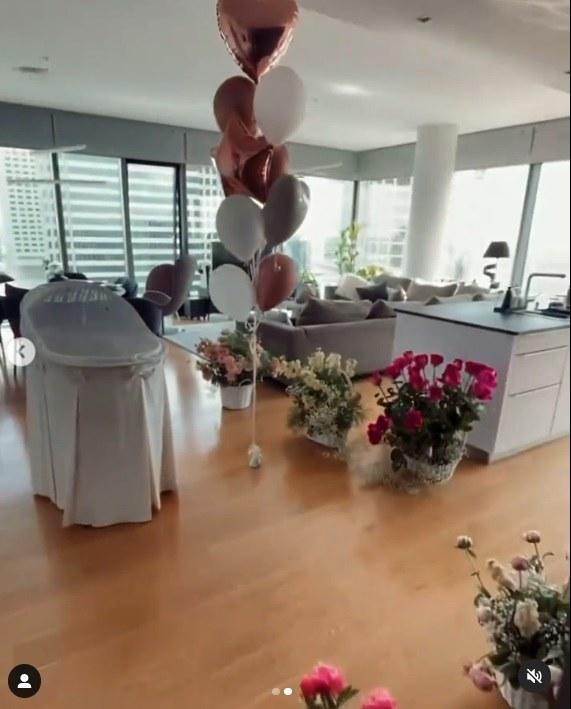 Klaudia Halejcio pokazała mieszkanie, fot. klaudiahalejcio /Instagram