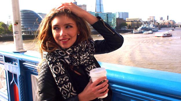Klaudia Halejcio w Londynie /materiały prasowe