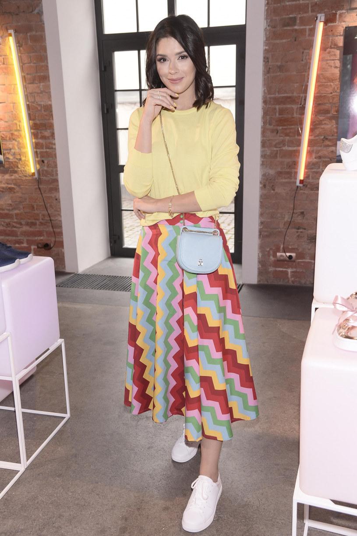 Klaudia Halejcio w wiosennej stylizacji /Tricolors /East News