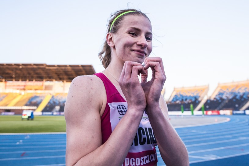Klaudia Siciarz ma już minimum na igrzyska olimpijskie w Tokio /Aleksandra Szmigiel/REPORTER /East News